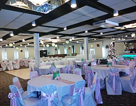 Event Hall rental information for all your special occasions
